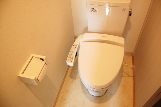 リフォームされたトイレ
