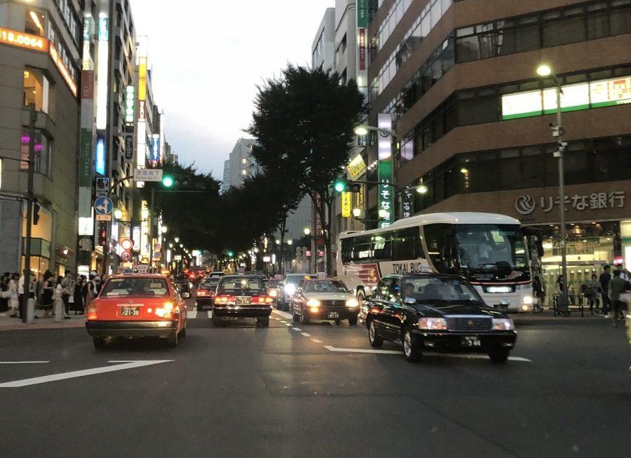 渋谷の道路